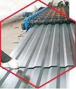 彩钢板板材压制工艺不规范