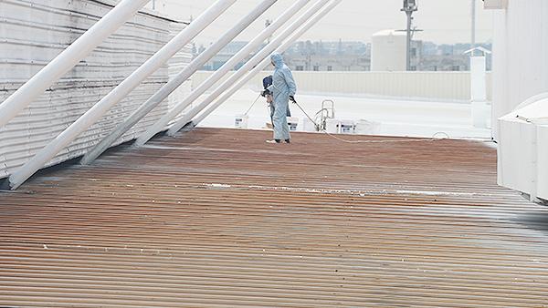 牧野机床(日资)钢结构屋面改造