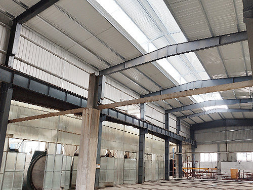 科嘉尚天钢结构屋面增高