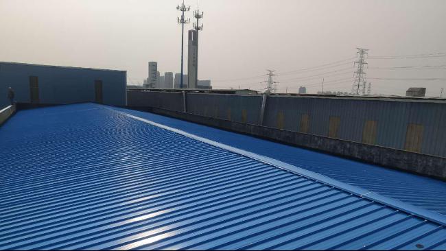 热烈庆祝顺来德建筑与苏州正济药业签订彩钢屋面维修协议