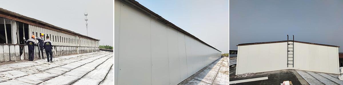 屋面气楼改造施工图