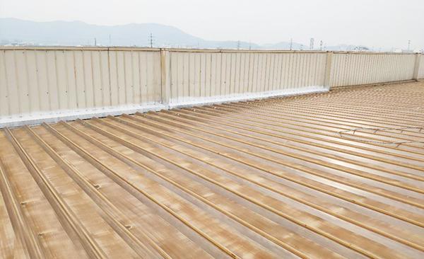 钢结构屋面改造前