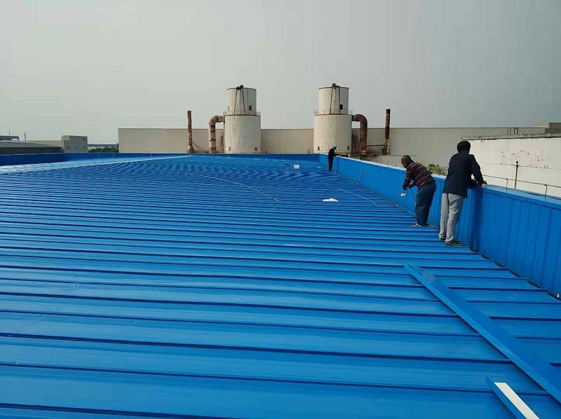 屋面换瓦施工