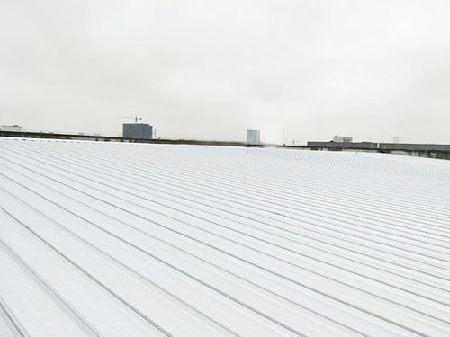 富士胶片覆屋面膜隔热板更换