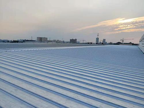 牧野机械屋面镀铝锌板改造