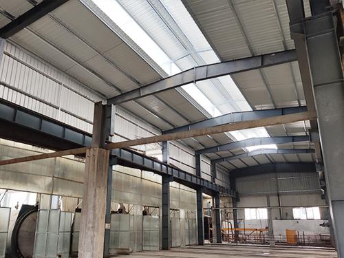 科嘉尚天钢结构厂房增高