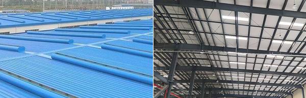 钢结构屋面改造范围