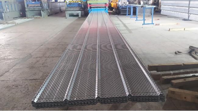 热烈庆祝总公司欧天板业与摩羯建设达成厂房漏雨材料合作关系