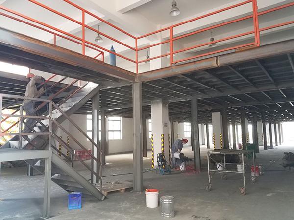 苏州遍净钢结构平台