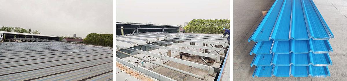 屋面彩钢瓦改造施工图